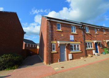 Thumbnail 3 bed end terrace house for sale in Lonydd Glas, Llanharan, Pontyclun