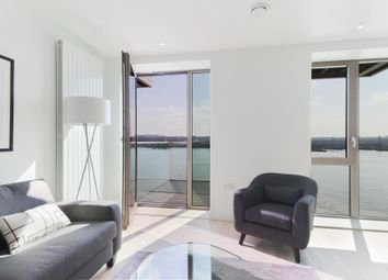 Thumbnail 2 bed flat for sale in Latitude Building, Royal Wharf, London