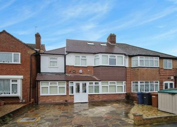 Thumbnail 6 bed semi-detached house for sale in Anglesmede Crescent, Pinner