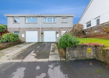 Thumbnail 3 bed semi-detached bungalow for sale in Rhiw Farm Crescent, Crumlin, Newport.