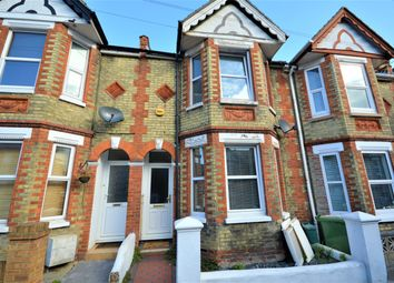 Thumbnail 3 bed terraced house for sale in Russell Road, Folkestone, Kent