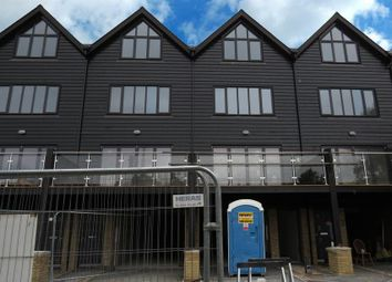 Thumbnail 4 bed town house to rent in Conyer Quay, Conyer, Sittingbourne