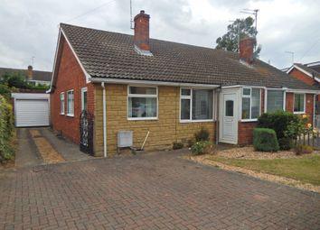 Thumbnail 2 bedroom semi-detached bungalow for sale in Talbot Avenue, Orton Longueville, Peterborough