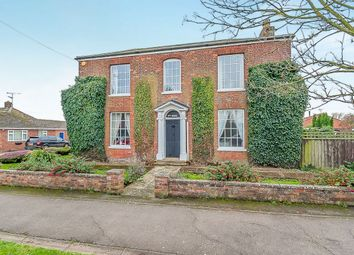 Thumbnail 5 bed detached house for sale in Old Main Road, Fleet Hargate, Spalding