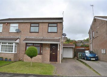 Thumbnail 3 bed semi-detached house for sale in Heol Tasker, Nelson, Treharris