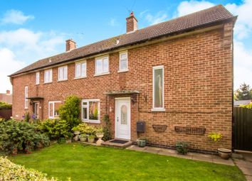 Thumbnail 2 bed semi-detached house for sale in Queens Drive, Enderby, Leicester