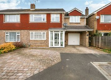 Thumbnail 4 bed semi-detached house for sale in Halterworth Close, Romsey, Hampshire