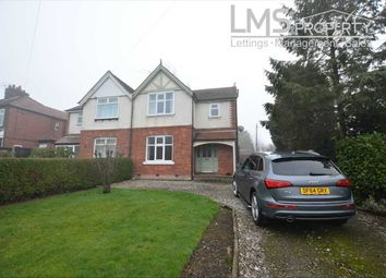 Thumbnail 3 bed semi-detached house to rent in Middlewich Road, Winsford