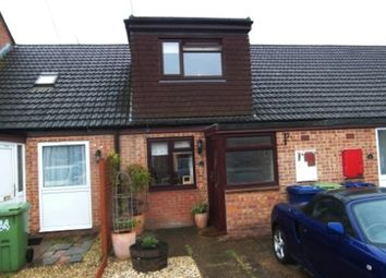 Thumbnail 2 bed terraced house to rent in Cromers Court, Northway, Tewkesbury