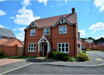 Thumbnail 4 bed detached house for sale in Harcourt Way, Northampton