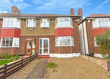 Thumbnail 3 bed terraced house for sale in Hillcross Avenue, Morden