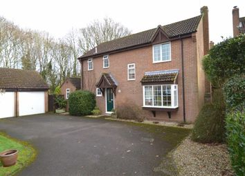 Thumbnail 4 bed detached house for sale in Hardys Field, Kingsclere, Berkshire