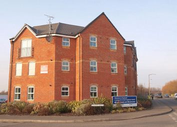 Thumbnail 2 bed flat to rent in Clough Drive, Stretton, Burton-On-Trent, Staffordshire