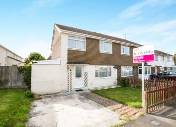 Thumbnail 3 bed semi-detached house for sale in Shadwells Road, Lancing