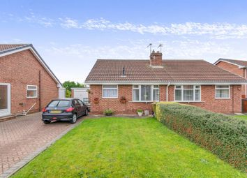 Thumbnail 2 bedroom semi-detached bungalow for sale in Willow Rise, Thorpe Willoughby, Selby