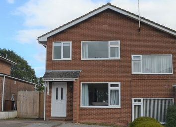Thumbnail 3 bed semi-detached house to rent in Langlands Road, Cullompton
