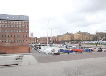 Thumbnail 2 Bed Flat To Rent In The Barge Arm Docks Gloucester