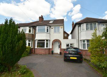 Thumbnail 4 bedroom semi-detached house for sale in Baldwins Lane, Hall Green, Birmingham