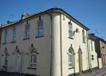 Thumbnail 2 bed end terrace house to rent in Berkley Road, Gravesend