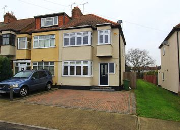 Thumbnail 3 bed end terrace house for sale in Bartlow Gardens, Romford, London