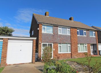 Thumbnail 3 bed semi-detached house for sale in Winchester Way, Willingdon, Eastbourne