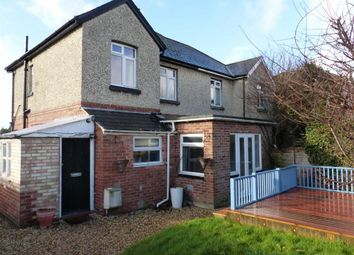 Thumbnail 3 bed semi-detached house for sale in Waverley Road, Weymouth, Dorset