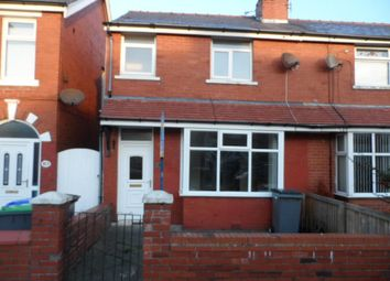 Thumbnail 3 bed semi-detached house to rent in Harcourt Road, Blackpool