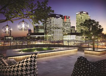 Thumbnail 3 bed flat for sale in Manhattan Plaza, Prestons Road, London