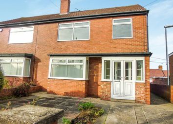 Thumbnail 3 bed semi-detached house for sale in The Crescent, Blackhall Colliery, Hartlepool