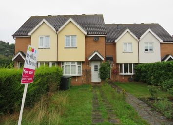 Thumbnail 2 bed terraced house for sale in Palm Close, Wymondham