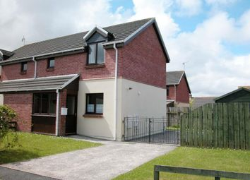 Thumbnail 2 bed semi-detached house for sale in Bro Stinian, Dwrbach, Fishguard