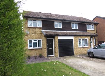Thumbnail 3 bed semi-detached house for sale in Binbrook Close, Lower Earley, Reading