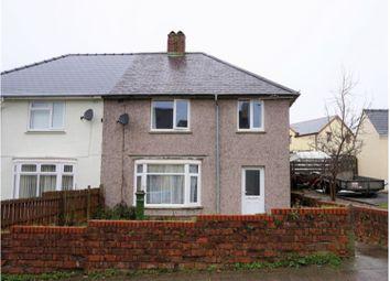 Thumbnail 3 bed semi-detached house for sale in Treowen Road, Pembroke Dock