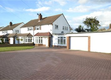 Thumbnail 3 bed semi-detached house for sale in Hillcrest Road, Orpington, Kent