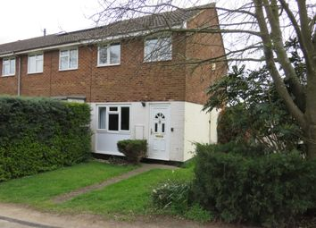 Thumbnail 3 bed end terrace house for sale in Carroll Close, Newport Pagnell