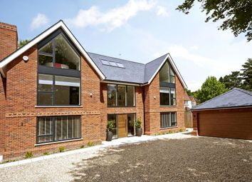 Thumbnail 6 bed detached house for sale in Larch Avenue, Sunninghill, Ascot