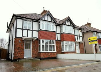 Thumbnail 4 bed semi-detached house for sale in Farm Road, Edgware, Middlesex