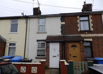 Thumbnail 2 bed terraced house for sale in Belvedere Road, Ipswich, Suffolk