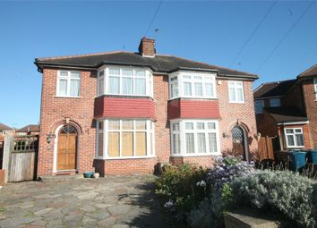 Thumbnail 3 bed semi-detached house to rent in Gyles Park, Stanmore, Middlesex