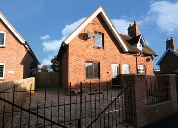 Thumbnail 2 bed semi-detached house to rent in Queen Catherine Road, Steeple Claydon