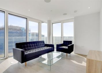 Thumbnail 3 bed flat for sale in Skylark Point, 48 Newnton Close, London
