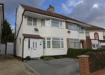 Thumbnail 5 bed semi-detached house for sale in Curzon Avenue, Stanmore, Middlesex