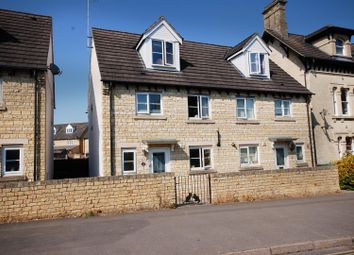 Thumbnail 3 bed terraced house for sale in Cashes Green Road, Cashes Green, Stroud