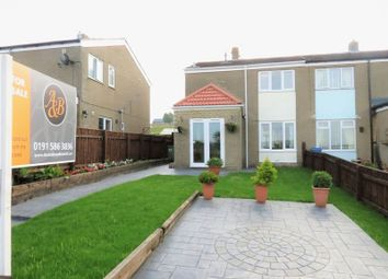 Thumbnail 3 bed semi-detached house for sale in Coopers Close, Thornley, Durham