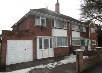 Thumbnail 3 bed semi-detached house for sale in Paget Road, Tettenhall, Wolverhampton