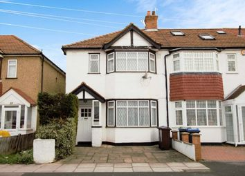 Thumbnail 3 bedroom end terrace house to rent in Byron Avenue, New Malden