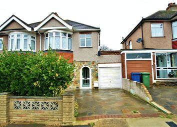 Thumbnail 3 bedroom semi-detached house to rent in Blenheim Gardens, Aveley, South Ockendon