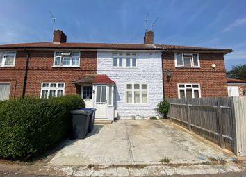 Thumbnail 3 bed terraced house for sale in Abbots Road, Burnt Oak, Edgware