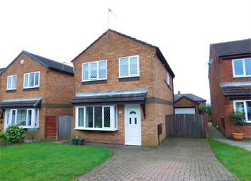 Thumbnail 3 bed detached house for sale in Halsall Close, Walmersley, Bury, Lancashire