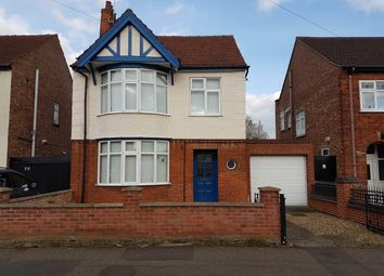 Thumbnail 3 bed detached house to rent in Silverwood Road, Peterborough